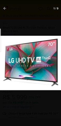 Vendo TV LG  estado de Nova  - Foto 2