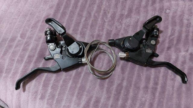 Alavanca de freio integrada shimano acera 3x9 - Foto 2
