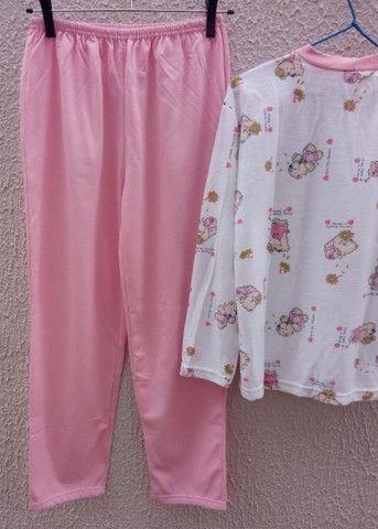 Pijama feminino peluciado novo Tam 14 - Foto 4
