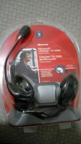 Fone ouvido headset Microsoft