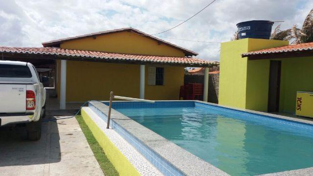 Casa com piscina carnaval watss. 86 995278384
