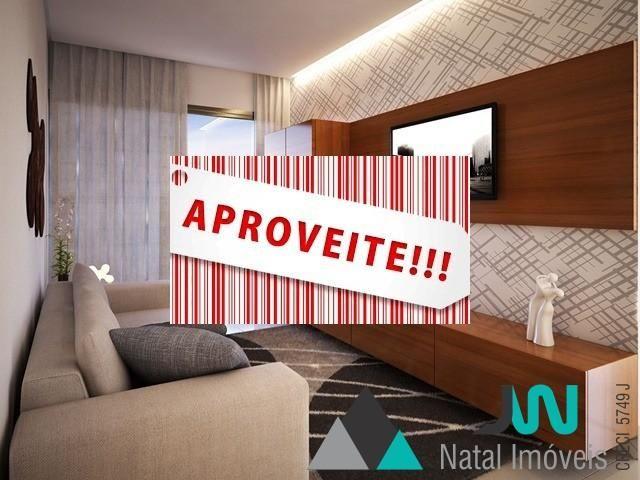 Apartamento com 2 quartos, sendo um suíte,  pronto para morar em Lagoa Nova