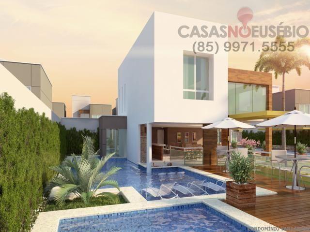 Casa em condominio de 140 m, 3 suites, 2 vagas, nova com lazer, perto ce - Foto 14