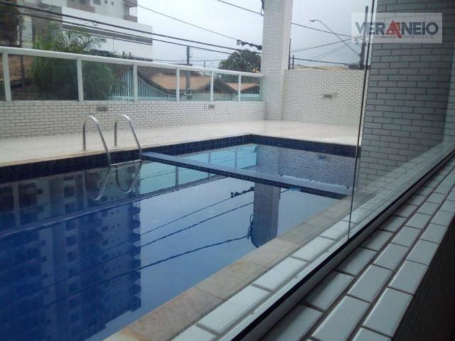 Apartamento com 2 dormitórios à venda, 73 m² por R$ 275.000 - Vila Guilhermina - Praia Gra - Foto 2