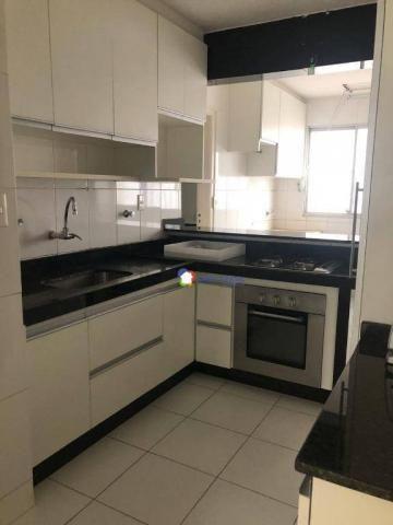 Apartamento com 3 dormitórios à venda, 126 m² por r$ 370.000 - setor bueno - goiânia/go - Foto 3