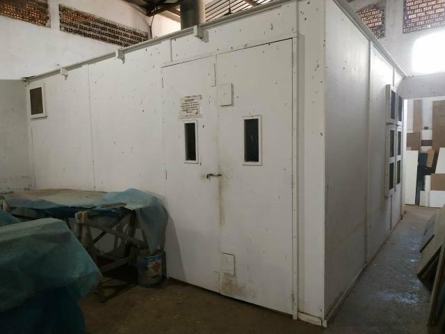 Cabine de pintura + exaustor + compressor - Foto 3