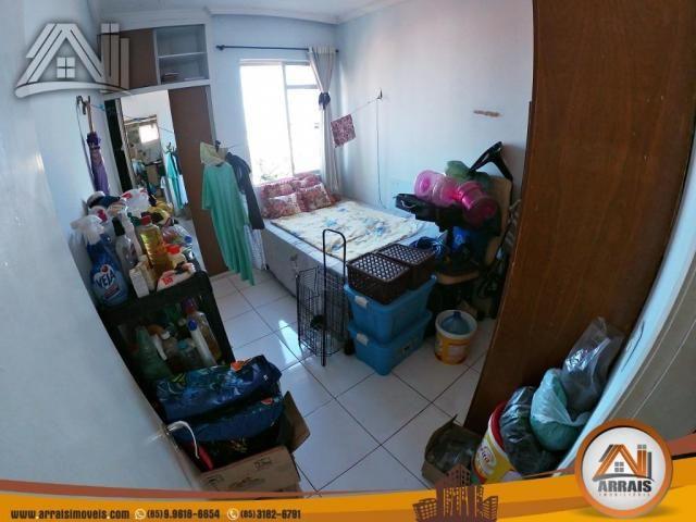 Vende apartamento com 3 quartos no bairro jacarecanga - Foto 10