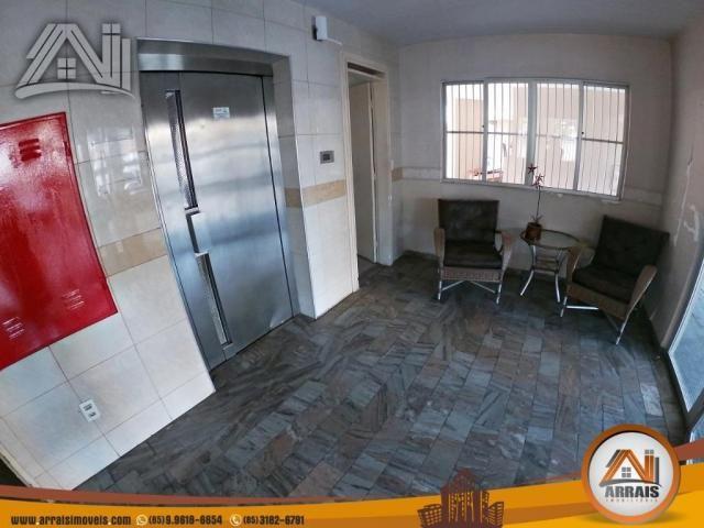 Vende apartamento com 3 quartos no bairro jacarecanga - Foto 3