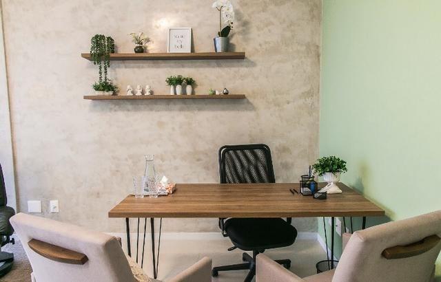 Sala comercial mobiliada centro Palhoça - Foto 3