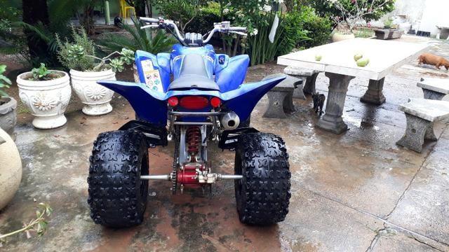 Quadriciclo Yamaha raptor 350cc - Foto 10