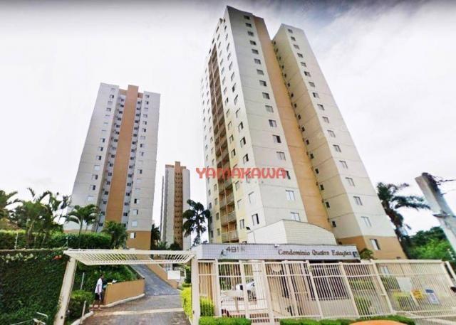 Apartamento em condomínio com 2 dormitórios à venda, 50 m² por r$ 300.000 - cidade patriar