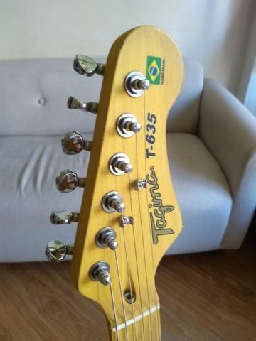 Guitarra Tagima 635 Brasil sunburst blindada - Foto 4