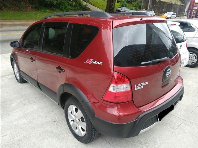 Nissan Livina 1.6 sl x-gear 16v flex 4p manual - Foto 4