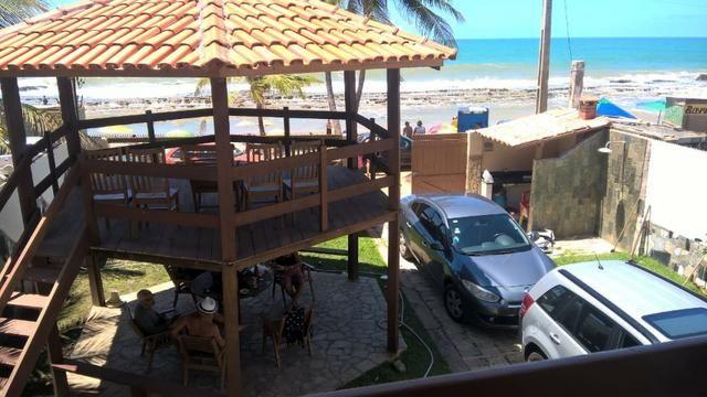 Vendo uma formosa casa, defronte ao mar, em JAUÁ (pé na areia) Valor R$450.000,00 - Foto 4