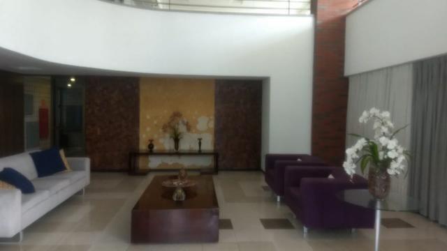 Apartamento na Aldeota com 160 m2, 4 suítes, sala em L, varanda, dependência e 3 vagas - Foto 5