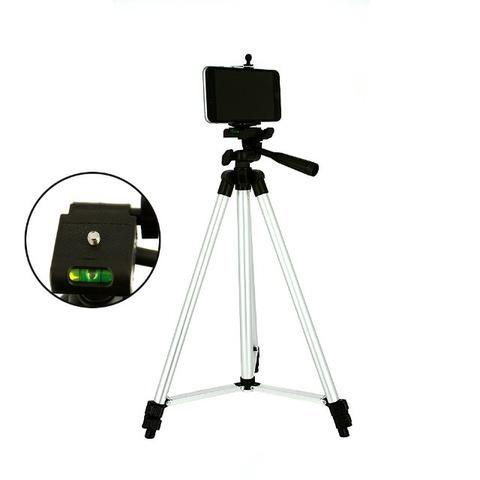 Tripé Universal Para Câmeras E Celulares 120cm Profissional SPO-8193 - Inova