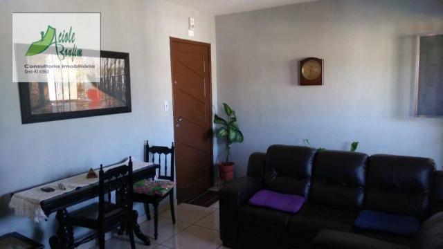 Apartamento com 2 dormitórios à venda, 75 m² por R$ 210.000 - Jardim Meriti - São João de