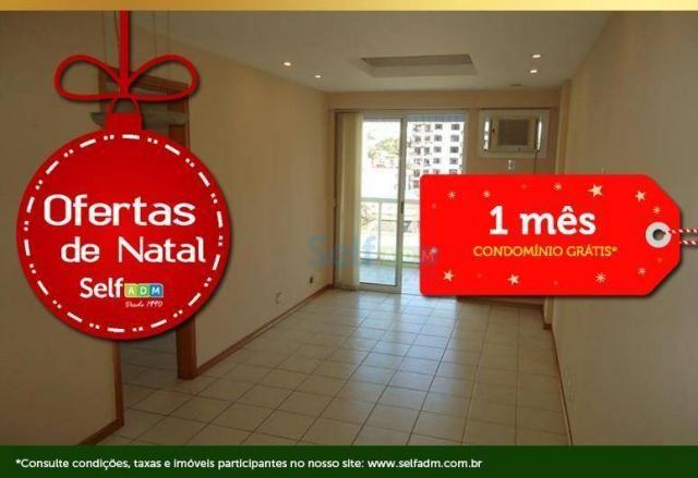 Apartamento com 1 quarto para alugar, 47 m² - icaraí - niterói/rj