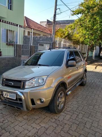 Vendo ou troco Ecosport GNV15m3 embaixo do carro! - Foto 2