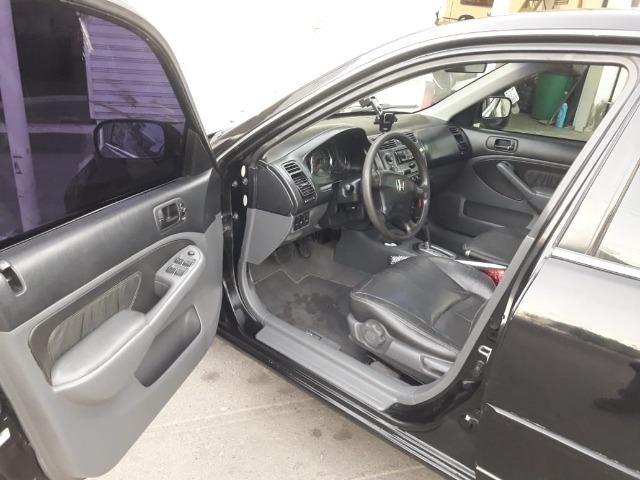 Honda Civic EX o top da categoria vendo ou troco por carro mais alto - Foto 16
