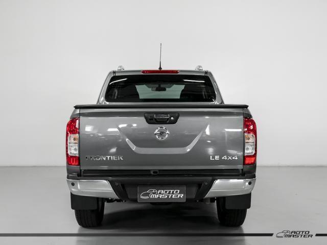 Nissan Frontier LE CD 4x4 2.3 Bi-TB Diesel Aut. - Cinza - 2018 - Foto 4