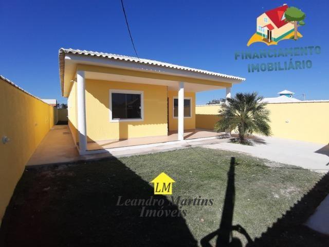 Ótima casa de 3 quartos com terreno de 480 mts em itaipuaçu !! Prox a rua 66 - Foto 2
