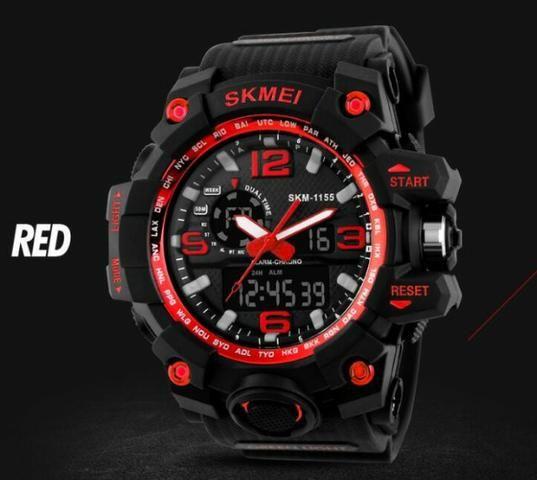 b0a2e75279f Relógio de Pulso Skmei 1155 Digital e Analógico Original
