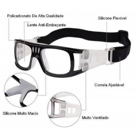Óculos de proteção para esportes - Esportes e ginástica - Cidade ... 6e7ab661b3