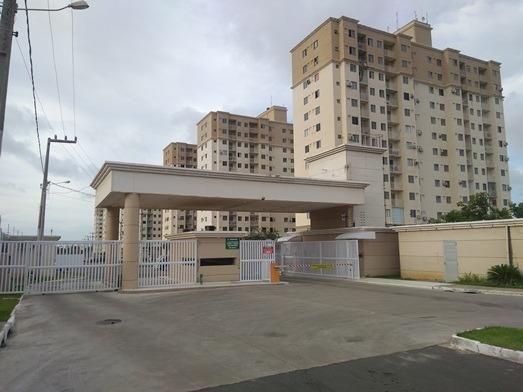Apartamento de 47 m² no Condomínio Costa Araçagy no 12º andar 02 qtos s/ 01 suite