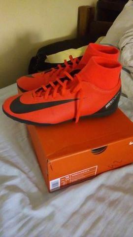 Chuteira Society Nike Superfly 6 Club CR7 TF Tam  42 Original Nova ... 7489951611f0f