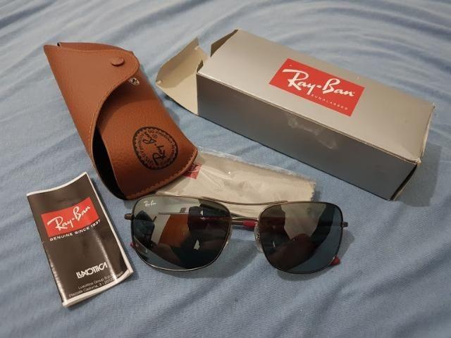 Óculos masculino Ray Ban modelo RB3515 - Original com Nota Fiscal ... 15172e0daa