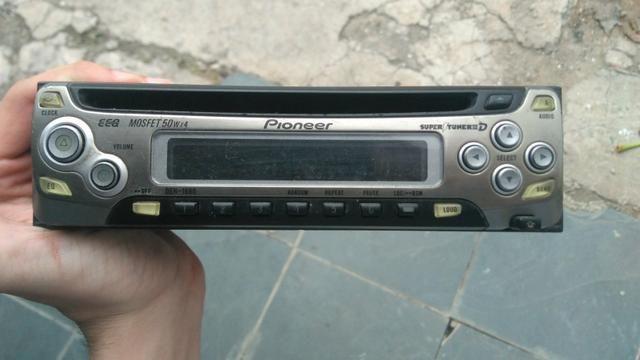 Radio Pioneer Deh 1680 Frente Usado áudio Tv Vídeo E