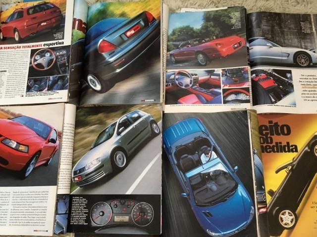 10 Revistas Quatro Rodas Janeiro até Outubro 2001 - Foto 4