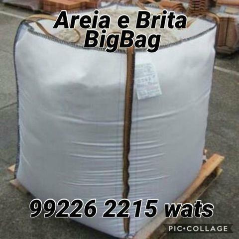 Areia e Brita ( BigBag)