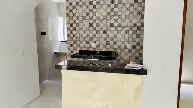 Lindo apartamento com fino acabamento 50 m2 , 02 suítes todo no porcelanato - Foto 9