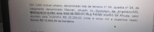 Terreno à venda, Loteamento Mouran - Anastácio/MS - Foto 2