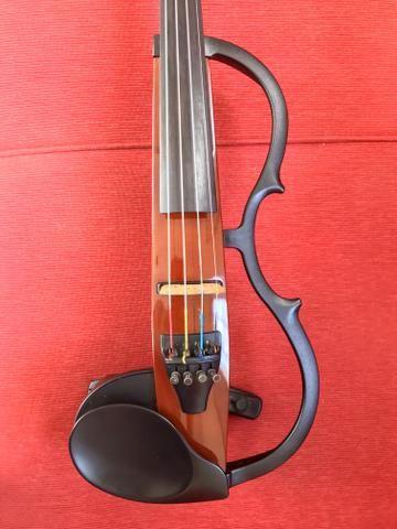 Violino elétrico Silent Yamaha SV-130 - Aceito Cartão