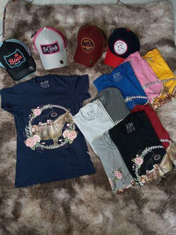 Camisetas Muladeiros Masculinos e Feminina  - Foto 4