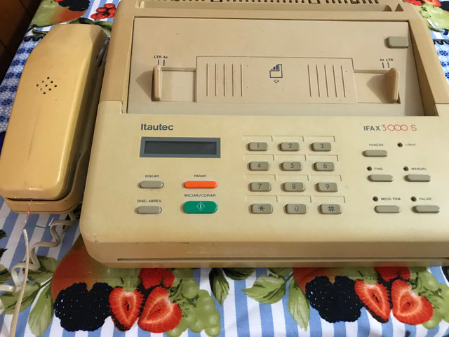 Vende-se aparelho FAX 1994