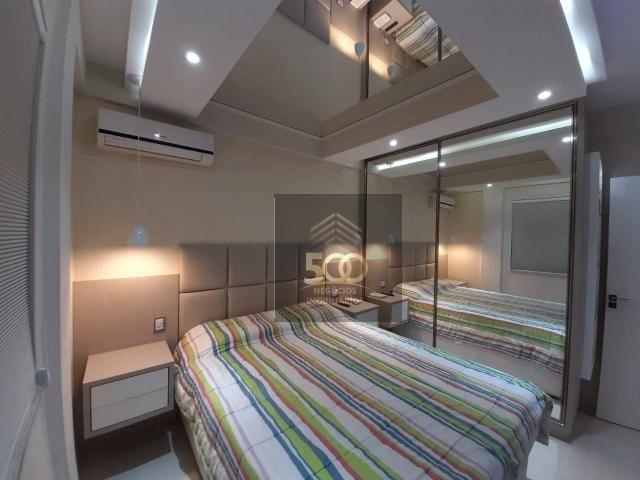 Apartamento com 2 dormitórios à venda, 60 m² por R$ 350.000 - Coqueiros - Florianópolis/SC - Foto 9