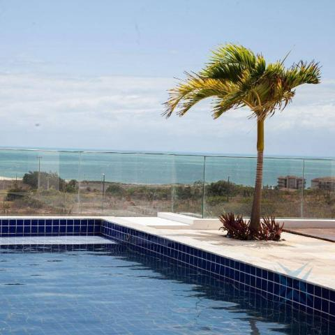 mansão com vista mar no aquiraz riviera com 5 dormitórios à venda, 419 m² por R$ 2.700.000 - Foto 2