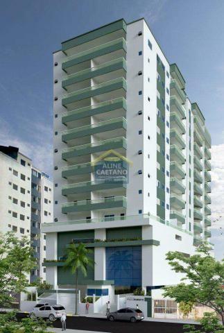 Apartamento à venda com 2 dormitórios em Guilhermina, Praia grande cod:JG07477