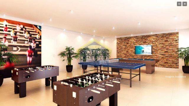 Apartamento à venda com 2 dormitórios em Guilhermina, Praia grande cod:JG07477 - Foto 5