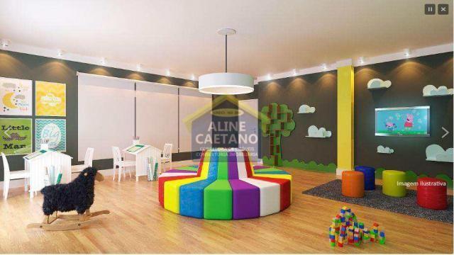 Apartamento à venda com 2 dormitórios em Guilhermina, Praia grande cod:JG07477 - Foto 7