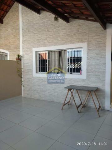 Casa à venda com 2 dormitórios em Tupi, Praia grande cod:AC763