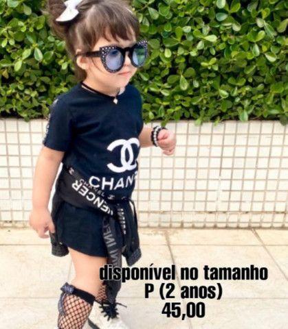 Vestido infantil mini fashion