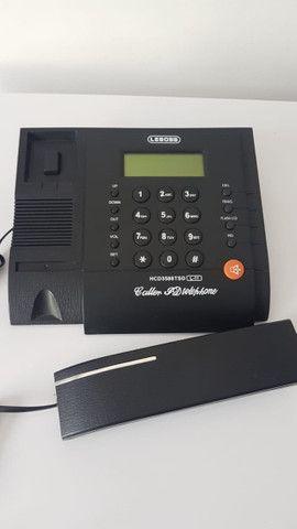 Telefone fixo com Identificador de Chamadas Memória Viva Voz - Foto 6