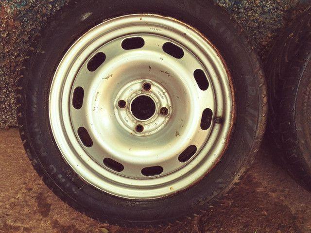 Rodas ferro aro 15 (SÓ VENDA) - Foto 3