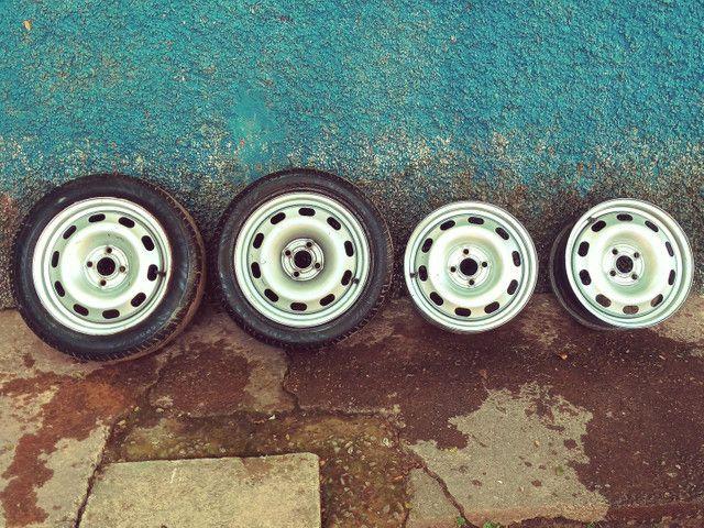 Rodas ferro aro 15 (SÓ VENDA)