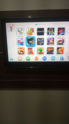 Vendo Wii u desbloqueado com HD - Foto 3